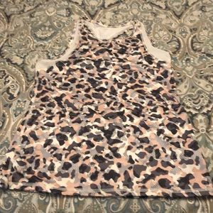 Old navy active  go-dry camo tank top